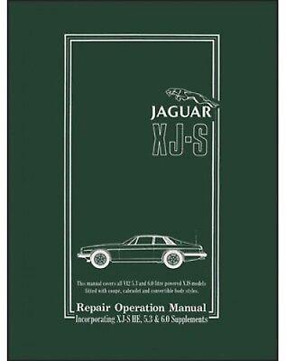 1995 95 1996 96 JAGUAR XJS XJ-S VEHICLE CARE OWNERS MANUAL V6 V12 COUPE CONV NEW