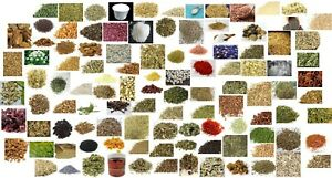 Apothecary Herbs SAMPLE Dried Herbs Wicca Chakra Reiki Healing 106 Choices(Read)