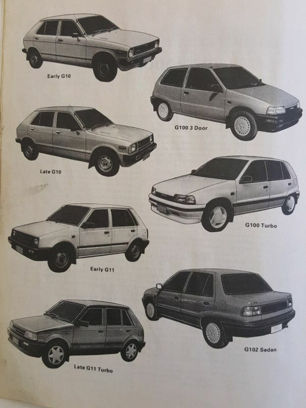daihatsu charade 1980 to 1993 workshop manual randburg gumtree