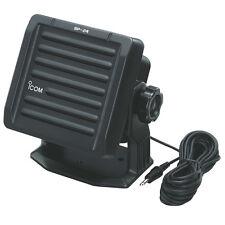 "Icom SP24 4x4"" inch External Speaker 7W 7 Watt - Black"