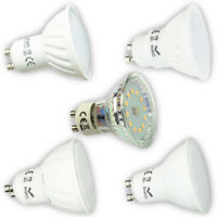 LED Leuchtmittel Lampe SMD GU10 1,5W, 3W, 4W, 5W, 7W, 9W Leuchte Glühbirne 230V