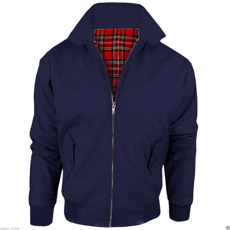 Navy / Harrington Jacket Mod Skin Style 70's New