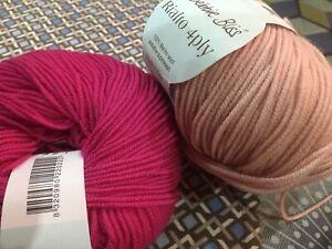 Shade 22036 willow DEBBIE BLISS RIALTO 4 ply knitting YARN