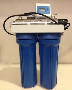 Depuratore filtro acqua a carboni attivi + lampada UV