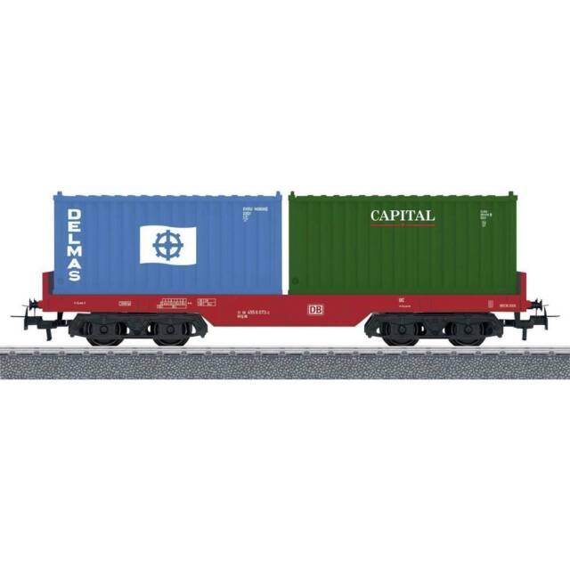 Märklin Start up 44700 H0 Containertragwagen der DB AG