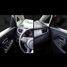 Chrome Interior Molding Black Garnish for Kia All new Carens Rondo 2013~2016+