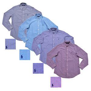 Polo-Ralph-Lauren-Mens-Shirt-Buttondown-Long-Sleeve-Collar-Top-S-M-L-Xl-New-Nwt