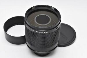 [AMOST MINT] Minolta RF Rokkor 500mm f8 Telephoto Reflex Mirror Lens SR MD Japan
