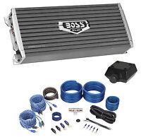 Boss Audio Ar2400.4 2400 Watt 4-channel Car Audio Amplifier+amp Kit+bass Remote on Sale