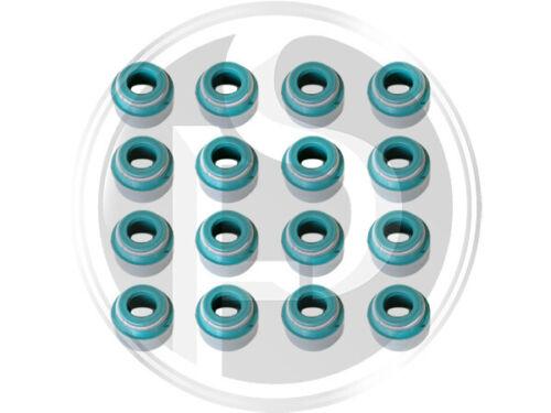 Saab Valve Stem oil seals 900,9000,9-3 Ensemble de 16