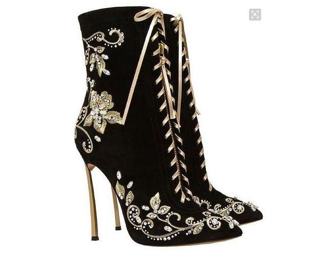 botas kim  negro pelle sintetica caviglia stiletto 12 cm stiletto alti 13