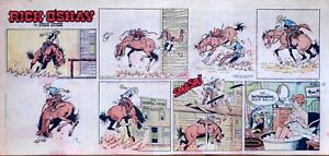 Rick-O-039-Shay-by-Stan-Lynde-full-color-Sunday-comic-page-September-22-1968