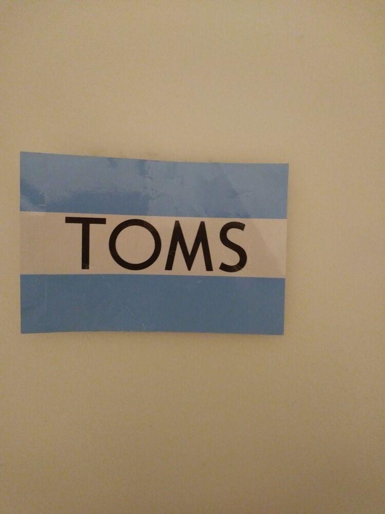 Chaussures Toms Autocollant