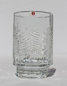 80 S Iittala Finland Glass Vase Kuusi Christmas Tree Design By Jorma Vennola Ebay