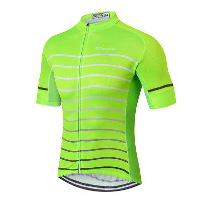 Men/'s Cycling Jersey Clothing Bicycle Sportswear Short Sleeve Bike Shirt Top Y95