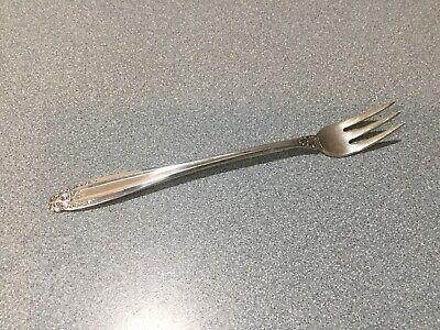 International Prelude Cocktail Fork Sterling Silver Flatware