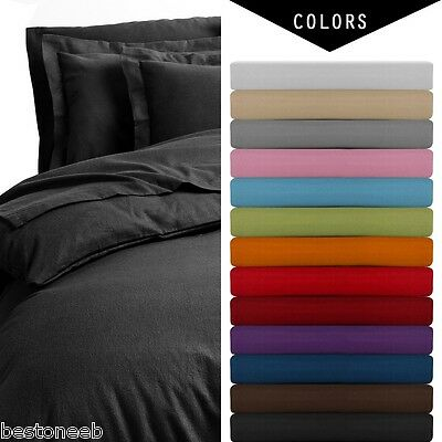 1800 COUNT QUALITY DEEP POCKET 4 PC BED SHEET SET - 13 COLORS - ALL SIZES SHEETS