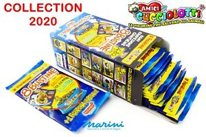 AMICI CUCCIOLOTTI 2020 OFFERTA DI 10 BUSTINE DI FIGURINE STICKER
