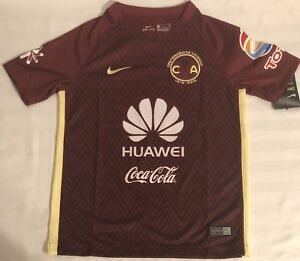 newest collection f0755 92f7e Details about Nike Club America CENTENARIO Soccer Jersey YOUTH Size: Small,  Medium