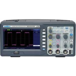 Metrix-dox2025b-oscilloscopio-digitale-20-mhz-2-canali-50-gsa-s-32-kpts-8-bit