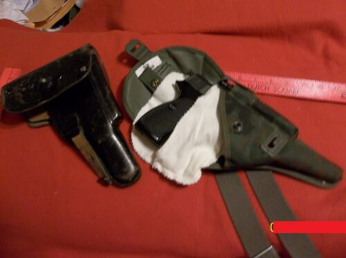 WWI WWII German Walther P38 P1 Parabellum 9mm Gun Sock Holster Liner Protector