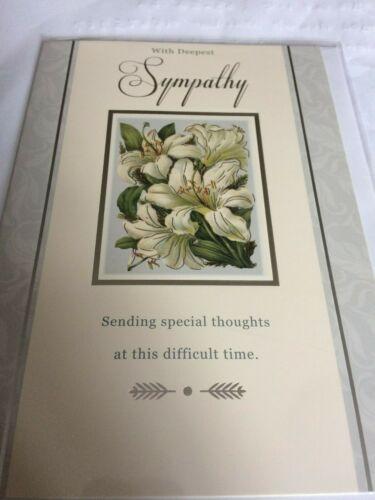 sympathy cards choice of 4
