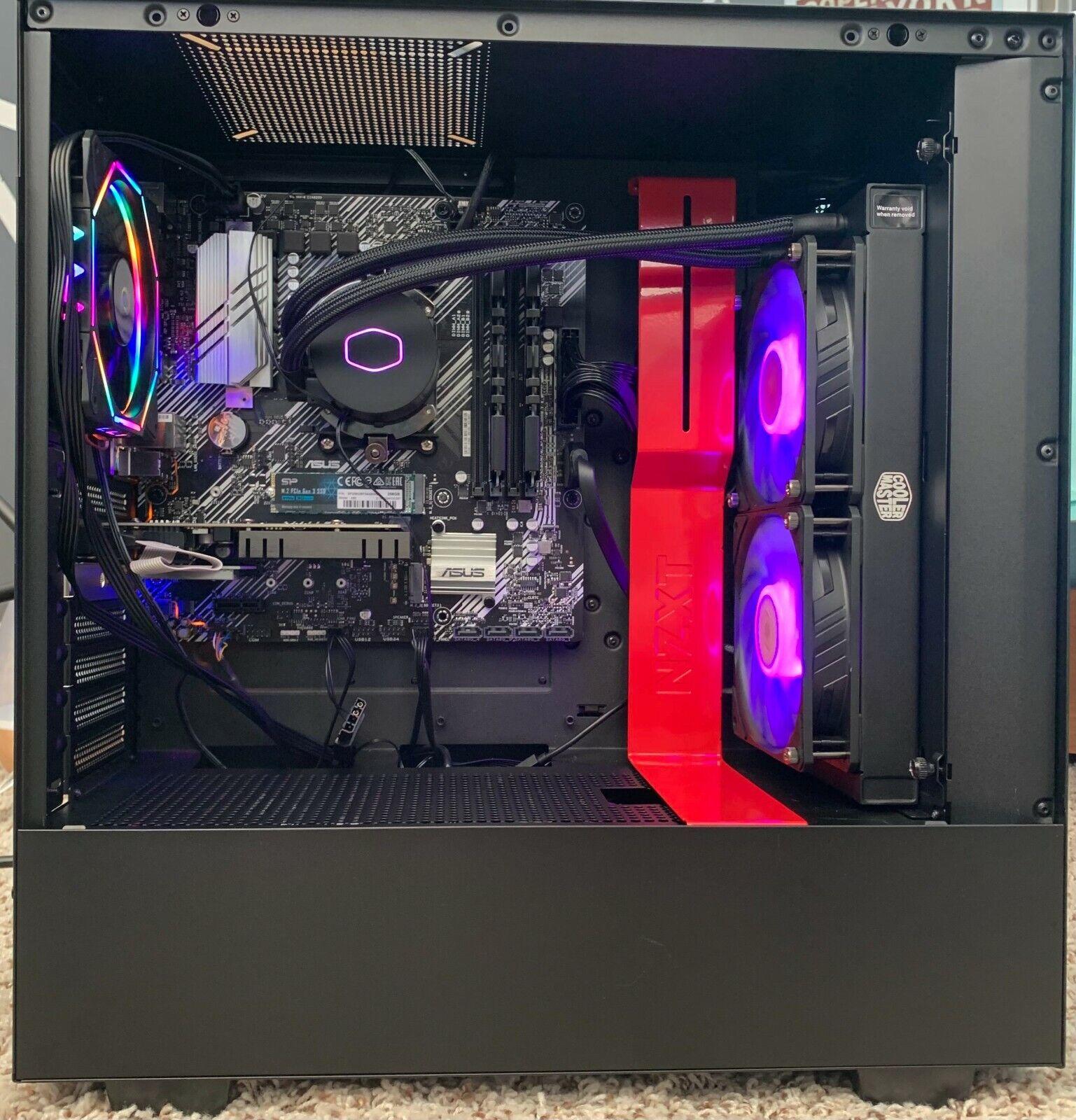 GAMING PC AMD RYZEN 3 3200G COOLER MASTER CPU COOLER 16GB RAM 2GB GPU 256SSD RGB