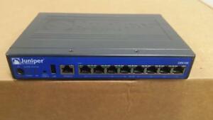 Details about Juniper SRX100H Services Gateway 8xFE Ports & High Memory  (1GB RAM, 1GB Flash)