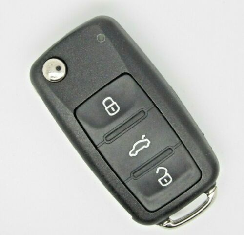 Para VW Caddy o transpoter T5 Facelift Completo Remoto Clave Fob 433MHZ.