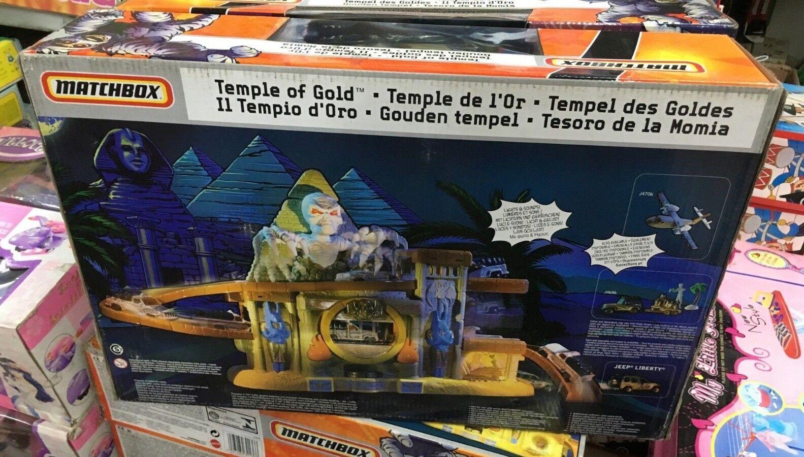 MATCHBOX PISTA PISTA PISTA IL TEMPIO D'gold con luci e suoni 920acc