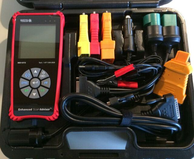 Matco Tools Enhanced Scan Advisor MD1072 OBDII LOOK