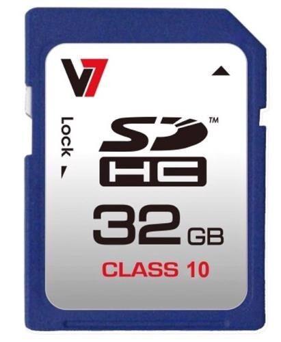 V7 32GB Tarjeta de memoria SDHC Clase 10