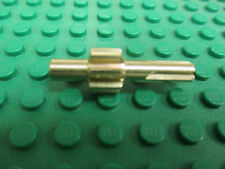 8 tooth bronze metal gear.  Works with Lego Technic or aluminum construction kit