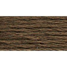 DMC 117-839 6 Strand Embroidery Cotton Floss, Dark Beige Brown, 8.7-Yard