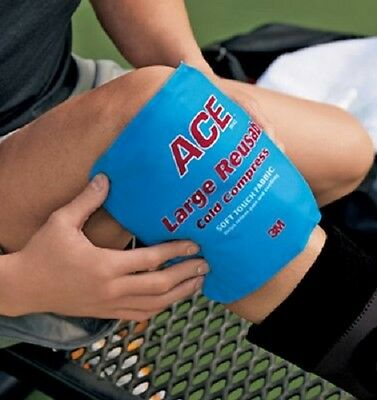 Ace Cold Compress Large Pack Reusable Therapy Reduce Swelling Pain Muscle Aches