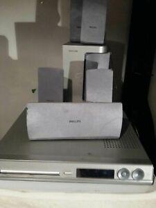 Home-Theatre-5-1-Philips-HTS3100-CD-DVD-DIVX-Player-Satelliti-e-sub-inclusi