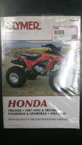New-Clymer-Honda-Service-Manual-TRX250X-1987-92-amp-TRX300EX-1993-06-M456-4