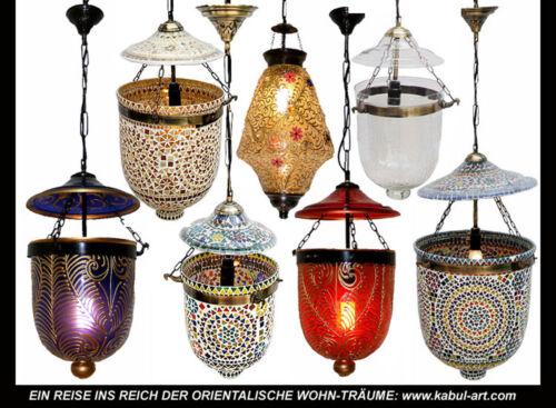 riesen orient Kolonial Mosaik Glas Hängalmpe lampe Mosaic Glass Pendant light XL