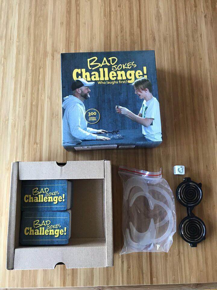 Bad jokes Challenge, Bad jokes challenge, andet spil