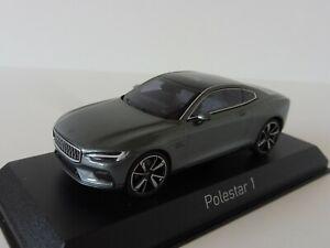 POLESTAR-1-2020-1-43-Norev-871000-OSMIUM-GREY-Volvo-Concept-Coupe-Hybrid