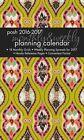 Posh Indigo Eye 2016-2017 Monthly/weekly Planning Calendar by Andrews McMeel PU