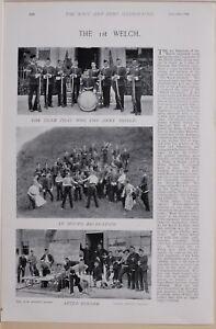 1896 Guerre Des Boers Ere 1st Welch Équipe Serez Armée Bouclier Recreation I4jnxh5j-08003512-514689837