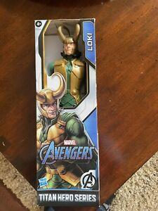 Marvel Avengers Titan Hero Series Blast Gear Loki Action Figure New In Box