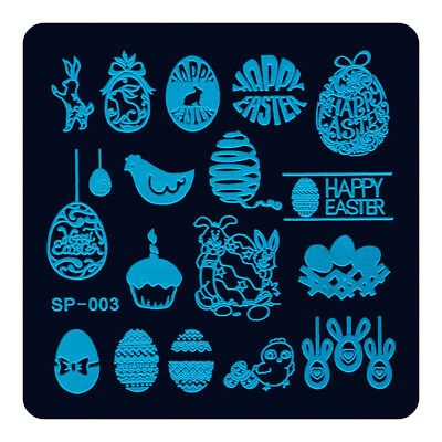 NEW Stamping Manicure Image Nail Art Image Stamp Template Tool Plate Polish S-03