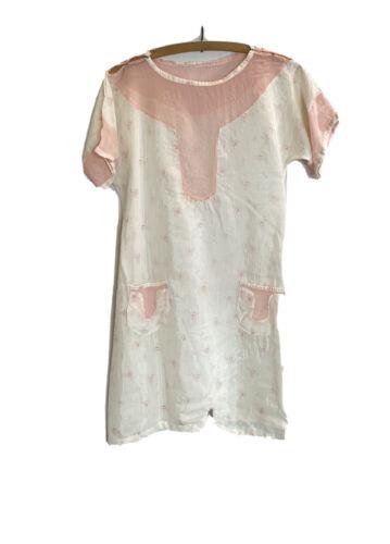 Vintage 1930s Womens Beach Pajama Romper Homemade