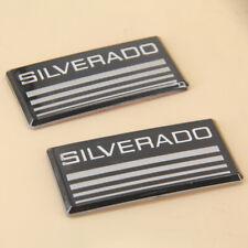 2pcs Chevy Cab Emblem Badge Side Roof Pillar Decal Plate For Silverado 1988 1998
