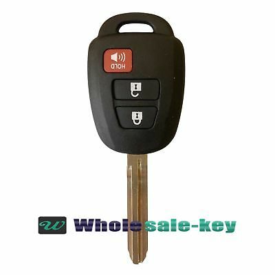 2Replacement Key for 2013-2015 Toyota Rav4 2014-2016 Prius C V Remote Fob H Chip