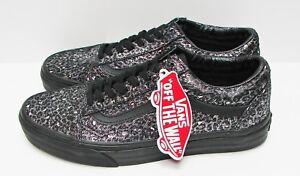 75233a4f16 VANS Old Skool (Metallic Leopard) Black VN-0004OJJQC Women s size ...