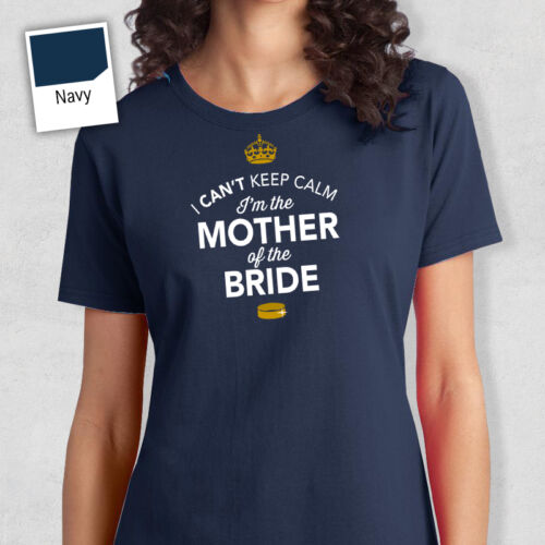 Mother Of The Bride To Be T Shirt Bridal Gift Present Hen Do Wedding Party
