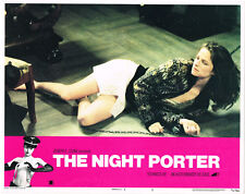 The Night Porter original lobby card Charlotte Rampling shained to bed
